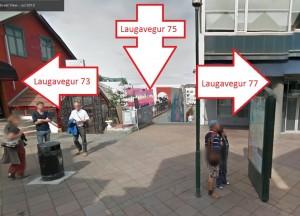 Dæmi Laugarvegur 75