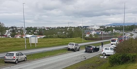Umferðarslys á höfuðborgarsvæðinu