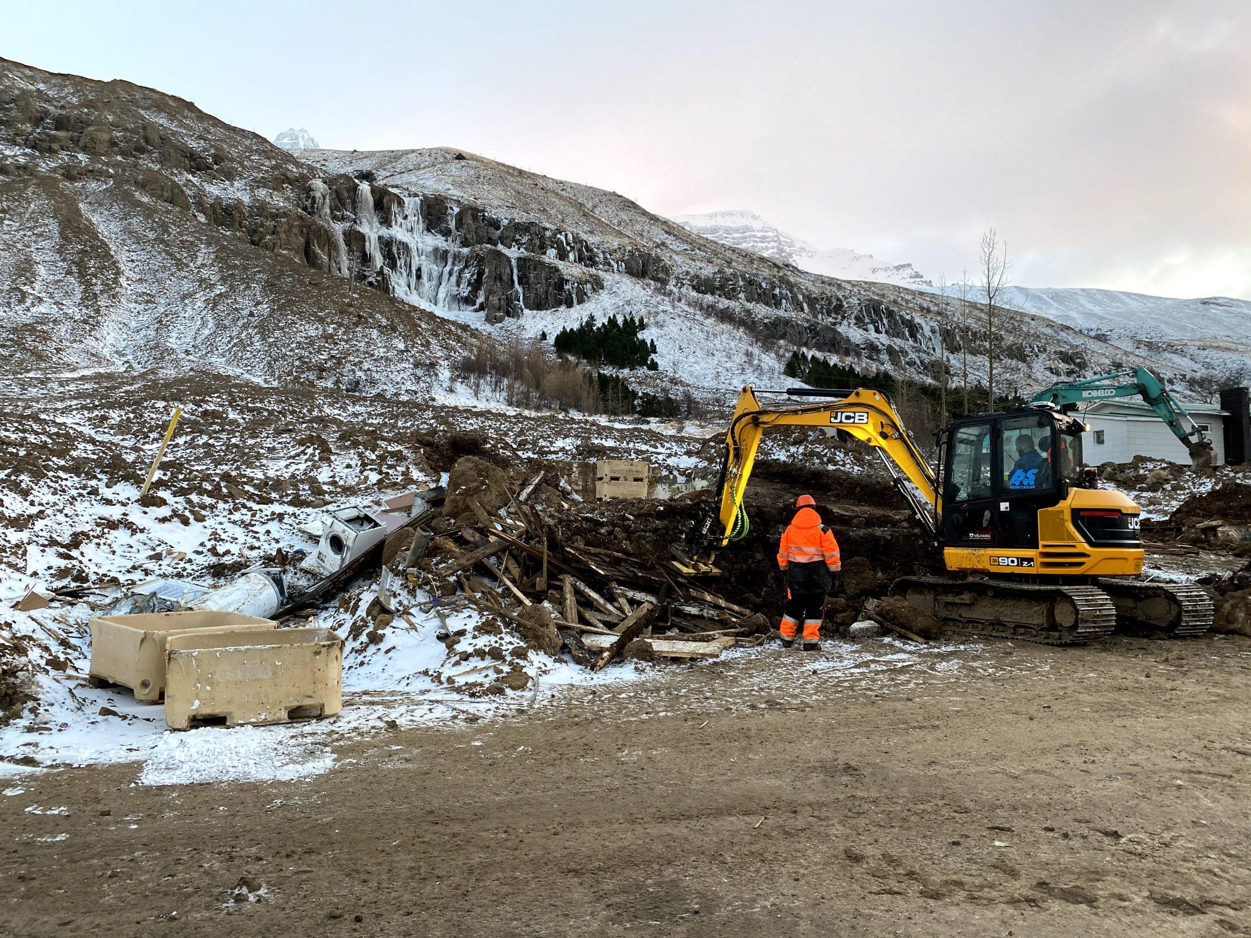 Seyðisfjörður: Samtal í boði við starfsfólk Veðurstofu í þjónustumiðstöð almannavarna