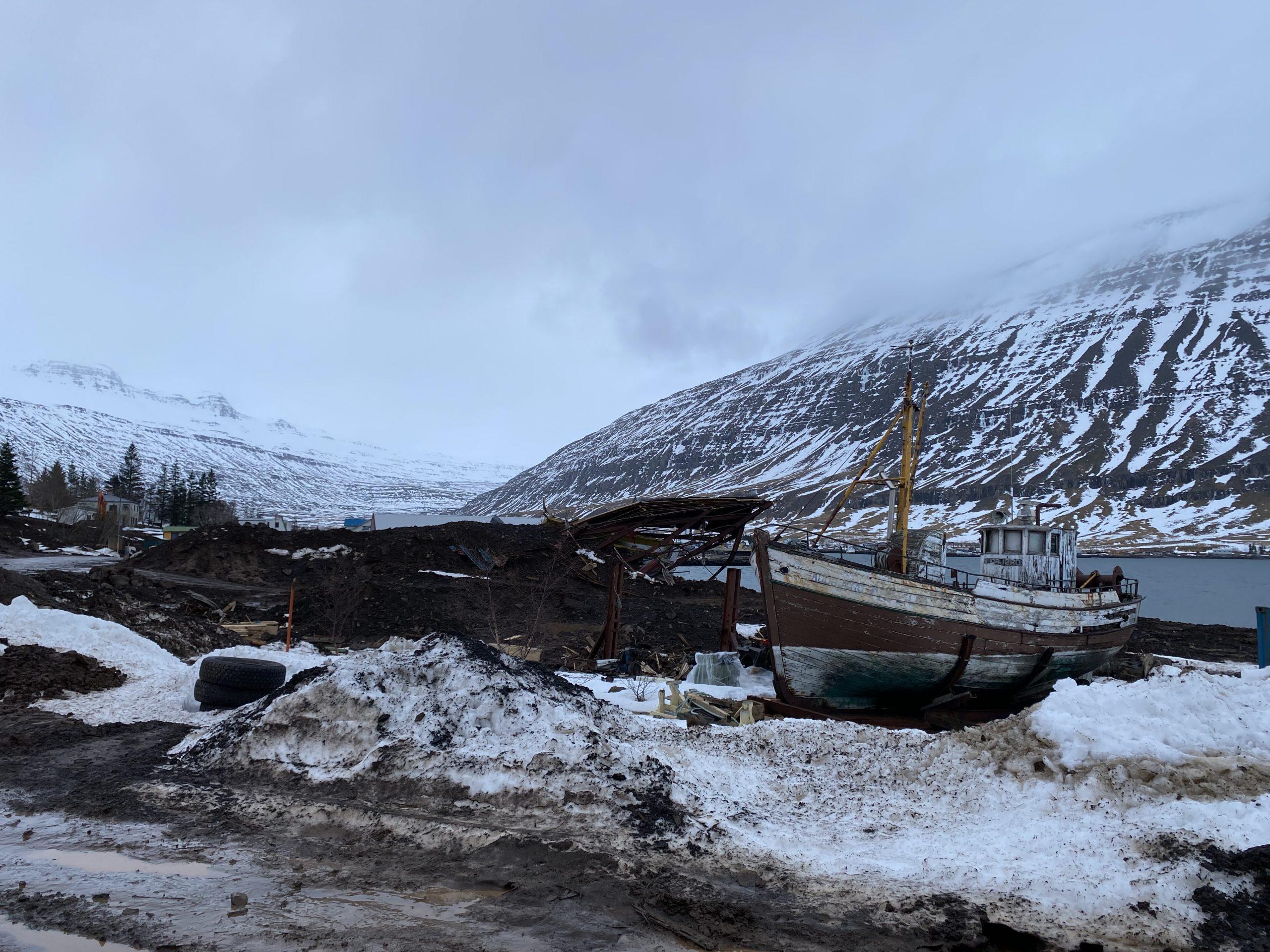 Seyðisfjörður: Hættustigi aflýst